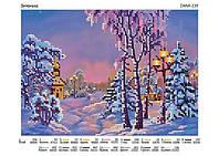 Схема ДАНА-239 Зима