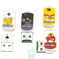Картридер CR-01 MicroSD - USB Angry Birds