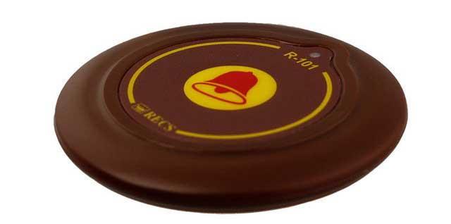 Тонка кнопка для виклику персоналу RECS R-101