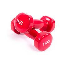 Гантели для фитнеса по 1 кг