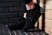 Мужские кроссовки асикс каяно чорные