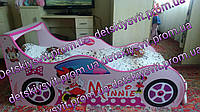 Детская кровать-машина для девочки Минни Маус