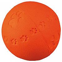 Мяч Trixie Toy Ball для собак резиновый, с пищалкой, 7 см, фото 1