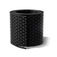 Лента вентиляции свеса WA-BIS 80 х 5000 мм Черный (1372)