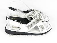 Босоножки Fabio Monelli H104-C125 white 37 24 см, фото 1