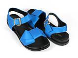 Босоножки Fabio Monelli 197-X1073-6 BLUE 36 23 см, фото 2