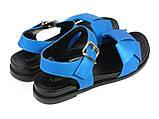 Босоножки Fabio Monelli 197-X1073-6 BLUE 36 23 см, фото 4