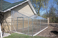 Односкатная теплица (Алюминиевый Каркас) Размер: 3 х 4.1 х 3 м