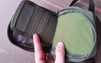 Сумочка тактическая однолямочная маленькая (органайзер, кошелёк, отсек для смартфона), фото 3