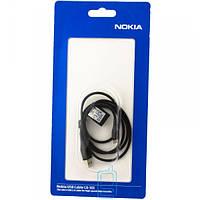 USB - Micro USB шнур Nokia CA-101 оригинал в блистере черный
