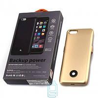 Чехол-аккумулятор X366 для iPhone 6-6S Gold