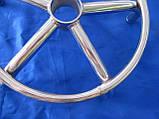 Стілець для майстра манікюру , педикюру і перукаря без спинки коричневий шахматки, фото 9