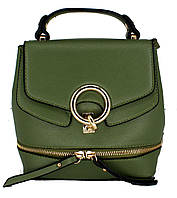 Женская Сумка-рюкзак Арт. 6927 Цвет зелёный