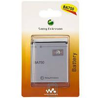 Аккумулятор Sony Ericsson BA750 1500 mAh LT15i, LT18i, X12i AA/High Copy