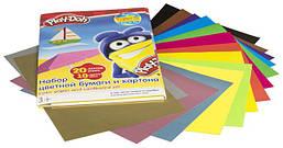 Бумага цветная, картон