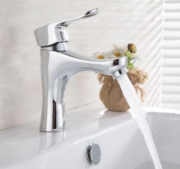 Смеситель в ванную для умывальника однорычажный 0389