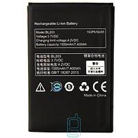 Аккумулятор Lenovo BL203 1500 mAh A269, A300T, A316, A369 AAA класс