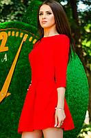 """Красное платье """"MASERATI"""""""