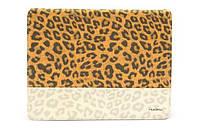 Nuoku LEO stylish leather case for iPad 2/3/4, brown