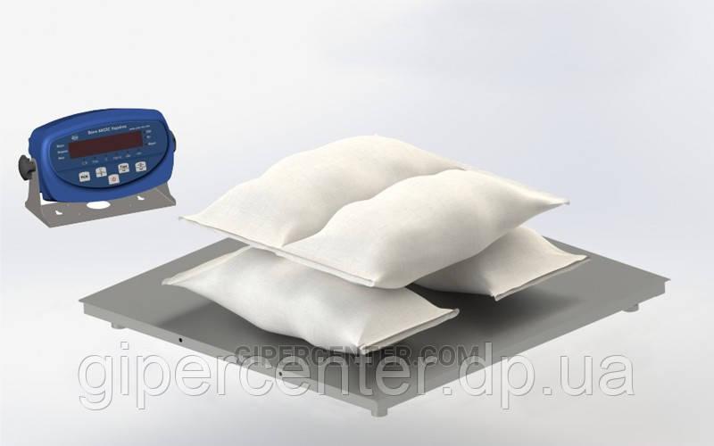 Весы платформенные до 6000 кг, 1500х1500 мм 4BDU6000-1515 бюджет