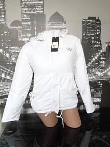 Женская куртка Adidas белая