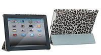 Nuoku ROYAL stylish leather case for iPad 2/3/4, grey
