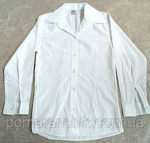 """Рубашка для девочки белая (5-6 лет), """"Kazim Kara"""" Турция"""