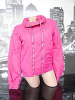 Женская куртка малиновая
