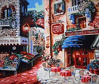 Картина по номерам Кафе на углу улицы KHO078 Идейка