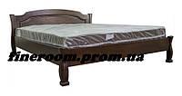 Кровать деревянная Лагуна-2 1600*2000 красное дерево