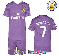 Футбольная форма для детей Рональдо № 7 Размер: 6- 7 лет Рост: 122- 128 см