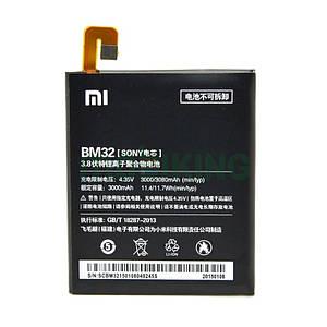 Оригинальная батарея Xiaomi Mi4 (BM32) для мобильного телефона, аккумулятор для смартфона.