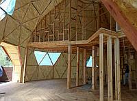 Утепление Купольного дома пенополиуретаном