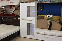 Шкаф стекло  серии 1-2-6-346 со склада в Одессе, фото 1