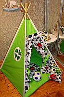 """Детский игровой домик, вигвам, палатка, шатер, шалаш, вігвам, дитячий будинок палатка """"Футболист"""""""