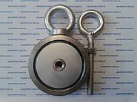 Поисковый двусторонний неодимовый магнит на 300 кг Тритон