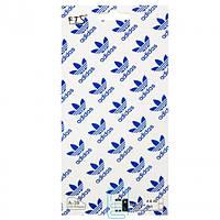 Защитная пленка iPhone 4S рисунок Adidas 2in1
