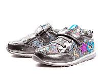 Детская спортивная обувь. Кроссовки для девочек оптом от фирмы Y.Top H17257-9 (12/6 пар, 26-31)