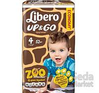 Подгузники-трусики детские Libero Up&Go 4 7-11 кг 52 шт.