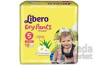 Подгузники детские Libero Dry Pants 5 10-14 кг 18 шт.