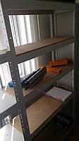Стеллаж СТ41МД10 (Н1820х920х460мм, 5 полок) металлический разборный каркас с полками ДСП (до 80 кг на полку)