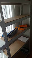 Стеллаж СТ42МД10 (Н1820х920х300мм, 5 полок) металлический разборный каркас с полками ДСП (до 80 кг на полку)