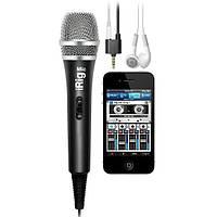 Ручной микрофон IK MULTIMEDIA iRIG MIC для устройств iPhone, iPod touch and iPad и Android