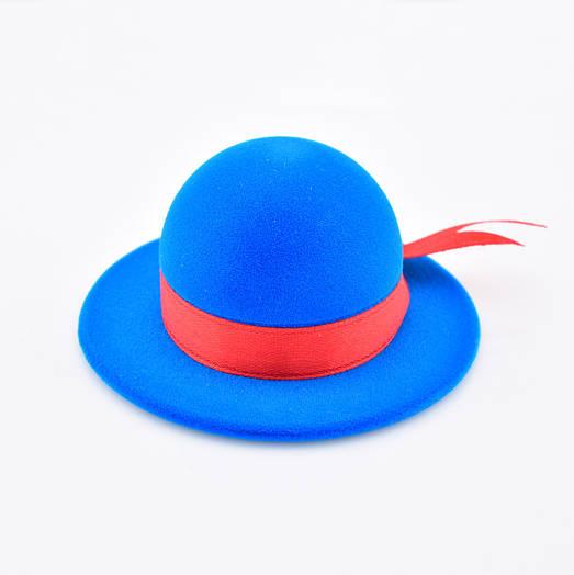 Футляр шляпка с лентой 54607 размер 70*35 мм