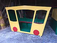 Беседка - карета для детской площадки