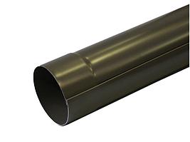 Водосточная труба Prefa алюминий 3 пог.м., размер 60, цвет: антрацит, серый, коричневый