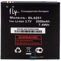 Аккумулятор Fly BL4251 2000 mAh IQ450 AAAA/Original тех.пакет