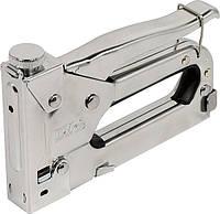 Степлер професс. металл.корпус 4-14 мм с регулятором, PREMIUM