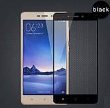Full Cover защитное стекло для Xiaomi Redmi 3 / 3s / 3x / 3 Pro - Black , фото 2