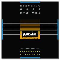Струны для бас гитары WARWICK 40200 BLACK LABEL M4 (45-105)